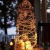 Cómo hacer un árbol de Navidad pieza central