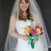¿Cómo hacer un velo de novia clásica