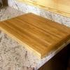 Cómo hacer una tabla de cortar de madera recuperada