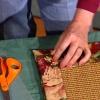 Cómo hacer un borde alfombra tela