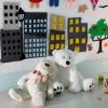 Cómo hacer una pared de la actividad de fieltro para niños
