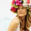 Cómo hacer una corona de la cabeza floral