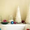 Cómo hacer un árbol de Navidad pieza central flecos