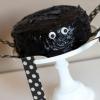 Cómo hacer un pastel de araña de Halloween