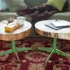 Cómo hacer una tabla con un registro y viejos patas de la silla