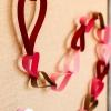 Cómo hacer día cadena de papel cuenta regresiva de un San Valentín