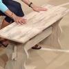 ¿Cómo hacer un banco de madera desgastada