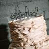 Cómo hacer un pastel de bodas Topper alambre