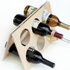 Cómo hacer un estante del vino un calendario