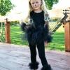 ¿Cómo hacer un fácil gato negro traje de halloween
