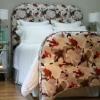 Como hacer un pie de cama tapizados
