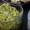 Cómo hacer dip de aguacate chimichurri en tazas de tortilla