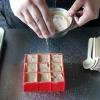 Cómo hacer biscochitos blanco cucharas de chocolate caliente