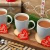 Cómo hacer bastón de caramelo corazones de Navidad
