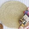 Como hacer alfombra de estilo cabaña de cuerda de sisal