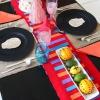 Cómo hacer manteles individuales de arpillera bordada