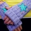 Cómo hacer guantes sin dedos de un viejo suéter