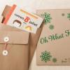 Cómo hacer sobres de regalo para navidad