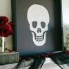 Cómo hacer arte de halloween cráneo
