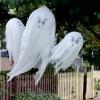 ¿Cómo hacer que cuelga fantasmas de halloween