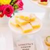 Cómo hacer barras de limón