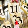 Cómo hacer bolsas de calendario advenimiento sin costuras