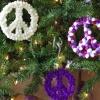 Cómo hacer la paz firmar adornos de navidad