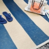 Cómo pintar una alfombra de sisal de estilo rural
