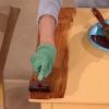 Cómo pintar un grano de madera de imitación