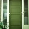 Cómo pintar una puerta de entrada