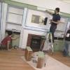 Cómo pintar una estantería de pared