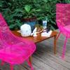 Cómo pintar sillas de metal