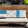 Cómo pintar banderas náuticas en un banco
