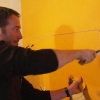 Cómo arreglar paneles de yeso dañado