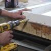 Cómo verter una sencilla encimera de hormigón