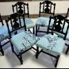 Cómo re-cojín viejas sillas de comedor
