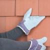 ¿Cómo reparar baldosas vertical en una pared exterior