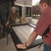 Cómo reemplazar un inserto de vidrio en una puerta