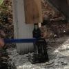 Cómo reemplazar la madera columna mal