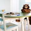 Cómo cambiar la finalidad de una mesa de comedor en la mesa de actividades para niños