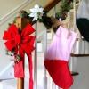 Cómo coser un calcetín de Navidad fácil de color-block