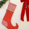 Cómo coser una media de la Navidad del duende