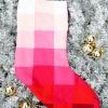 Cómo coser una media ombre navidad