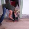 Cómo manchar un piso de madera