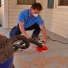 Cómo acabar con un suelo del porche de hormigón