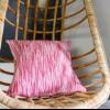 Cómo convertir una alfombra de tejido plano en una funda de almohada-cosido