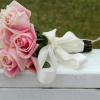 Cómo envolver flores para hacer un ramo de boda