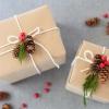 Cómo envolver regalos con elementos naturales