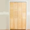 Instale puertas de los armarios de doble pliegue