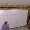 La instalación de una puerta de garaje